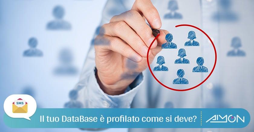 Perché fare attività di Profilazione Database nell'SMS marketing?